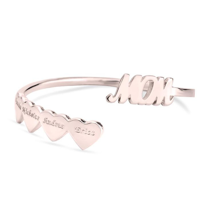Mothers Bangle With Children's Names