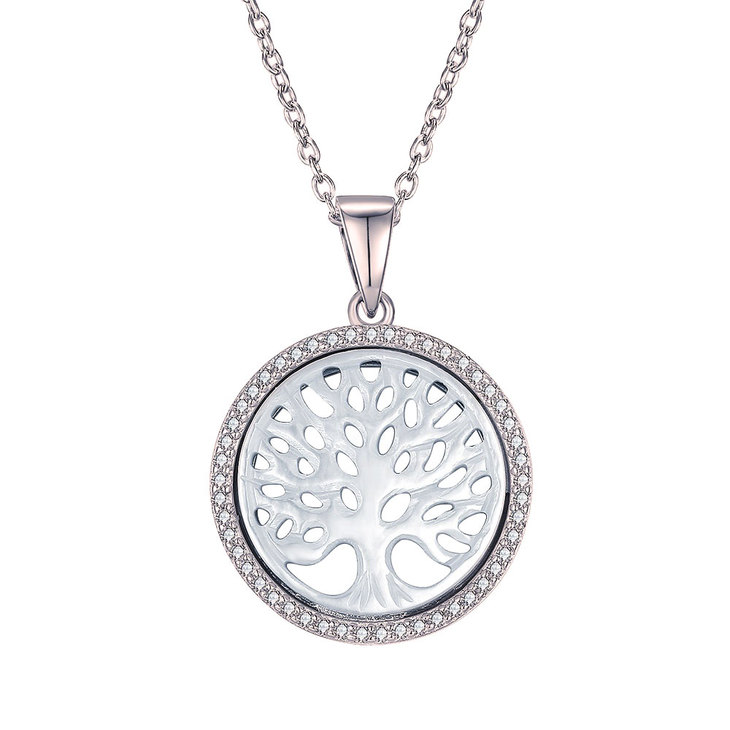 Necklace Tree with Cubic Zirconia