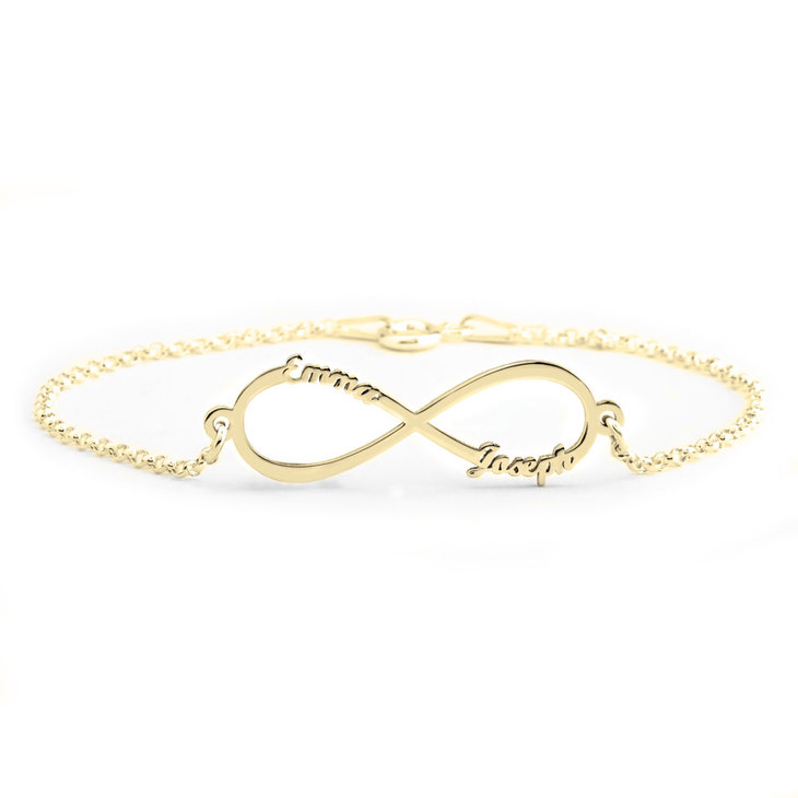 Infinity Name Bracelet - Picture 2