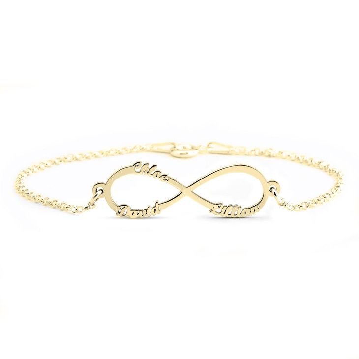 Infinity Name Bracelet - Picture 3
