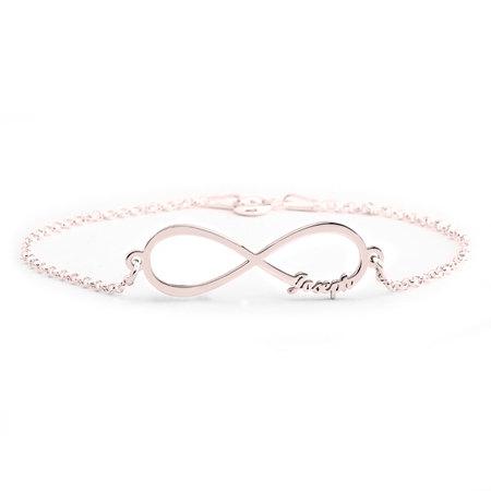 Bons prix hot-vente plus récent en ligne Bracelet Prénom Infini