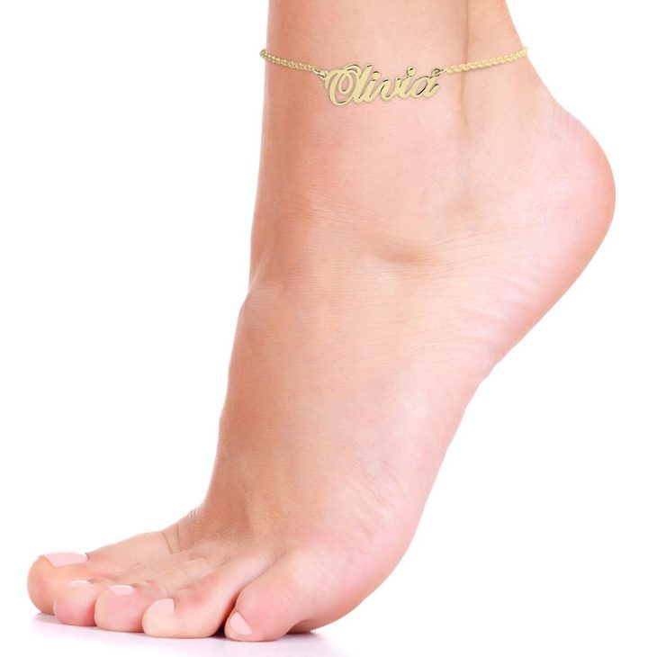 Name Anklet - Picture 2