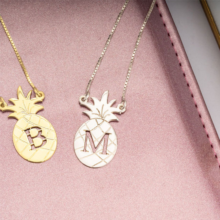 Personalised Pineapple Necklace - Information