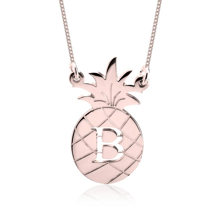 Personalized Pineapple Necklace