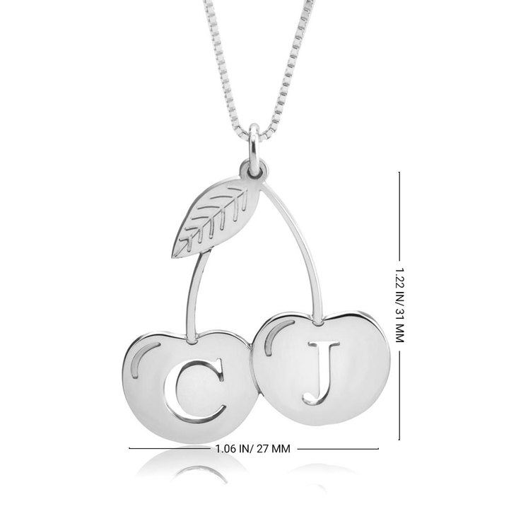 Personalized Cherry Necklace - Information