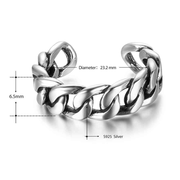 Chain Link Ring  - Information