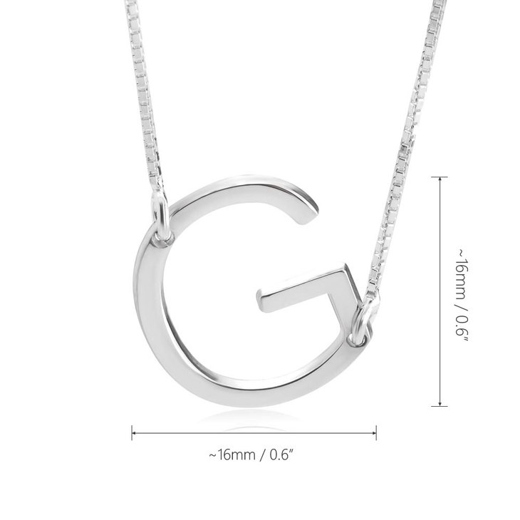 Letter Necklace - Information