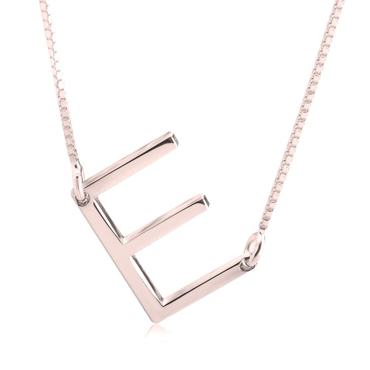 Letter Necklace - Picture 2