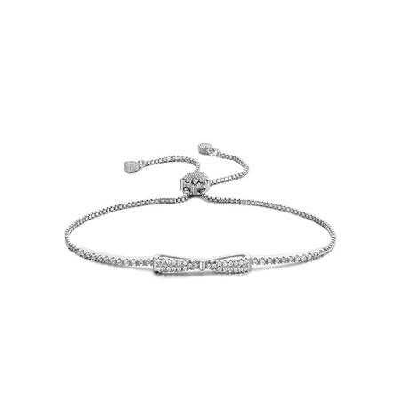 les ventes chaudes code promo vente limitée Bracelet Nœud Papillon avec Zirconium