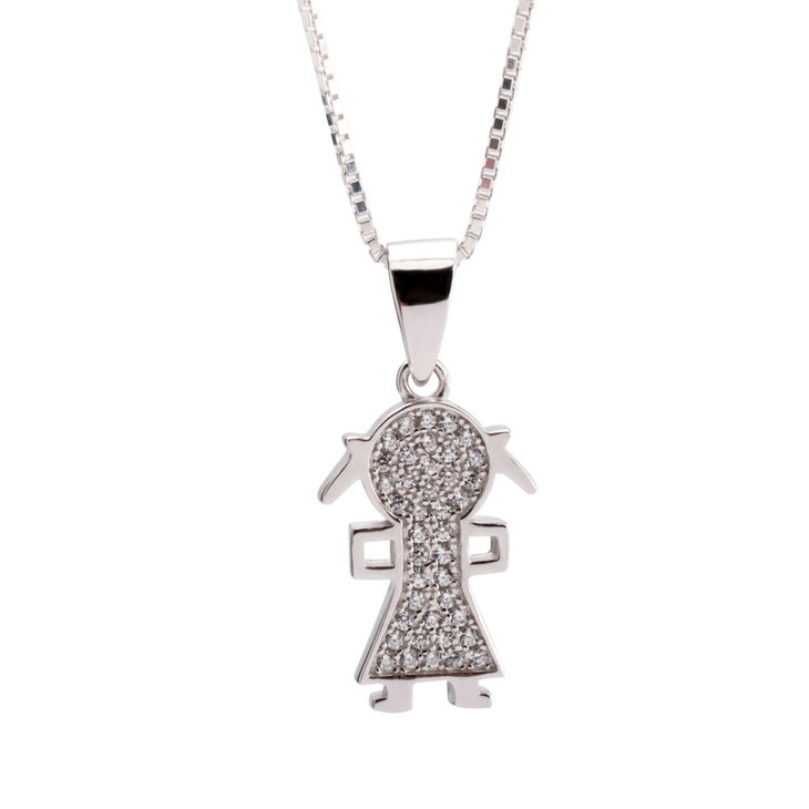 Necklace With Kid Charms - Picture 2