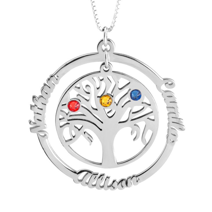 Family Tree Necklace - Picture 2
