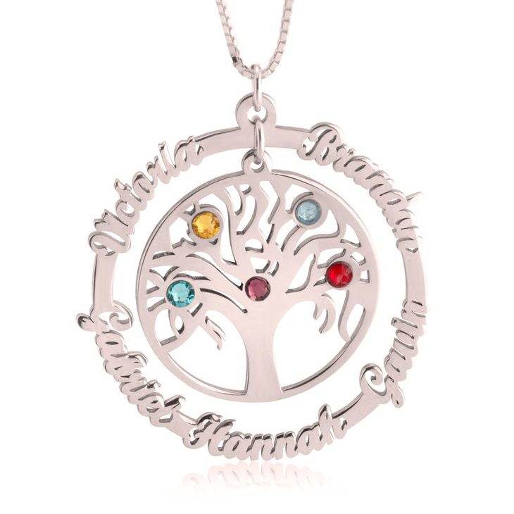 Family Tree Necklace - Picture 3