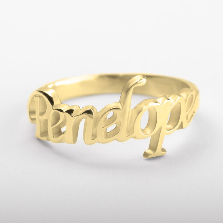 Personalized Name Ring - Picture 2