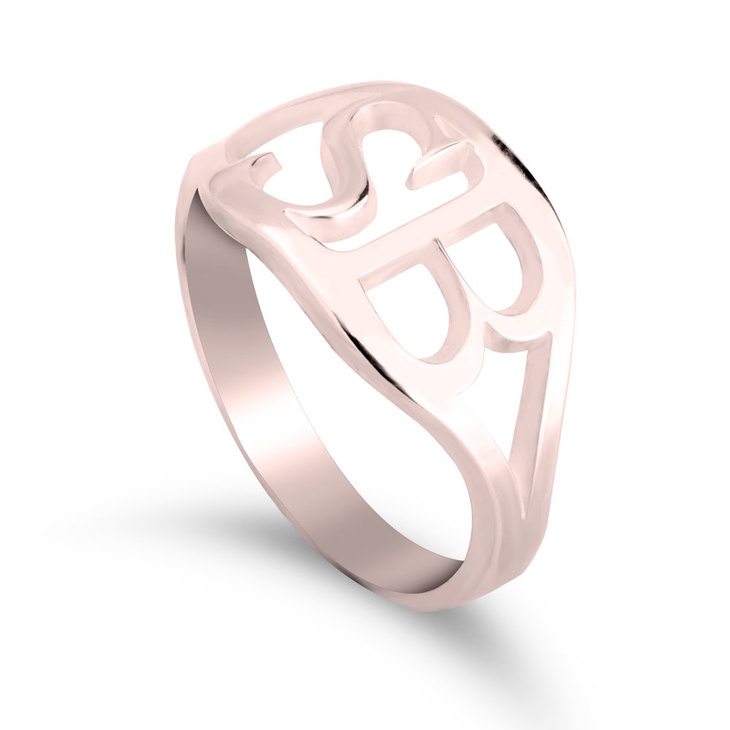Personalized Initial Ring - Picture 2