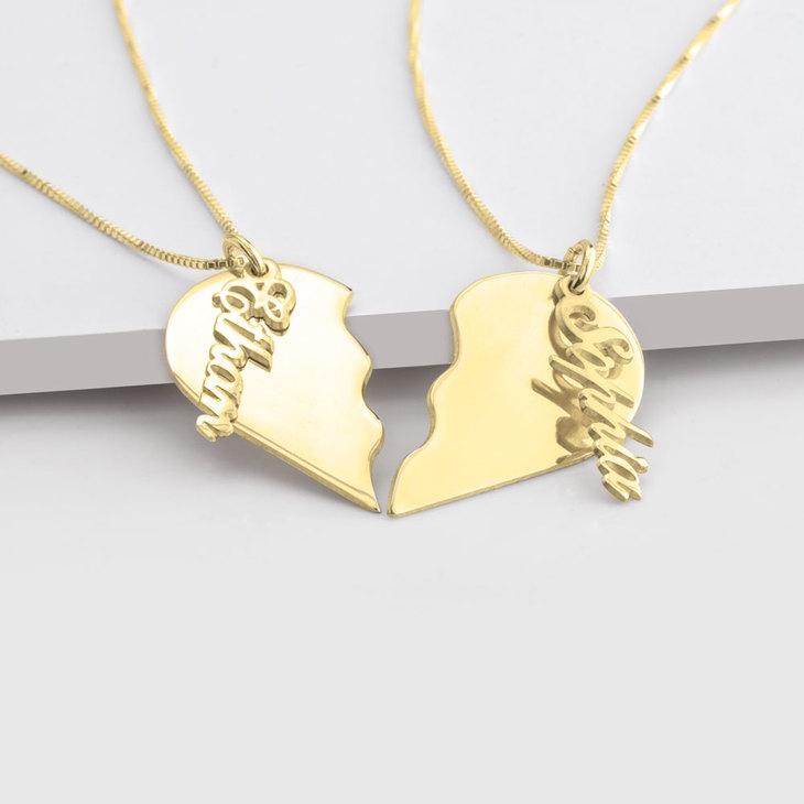 Broken Heart Necklace - Picture 2