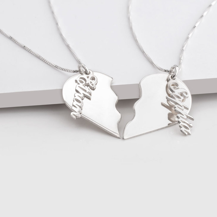 Broken Heart Necklace - Picture 2