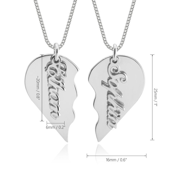 Broken Heart Necklace - Information