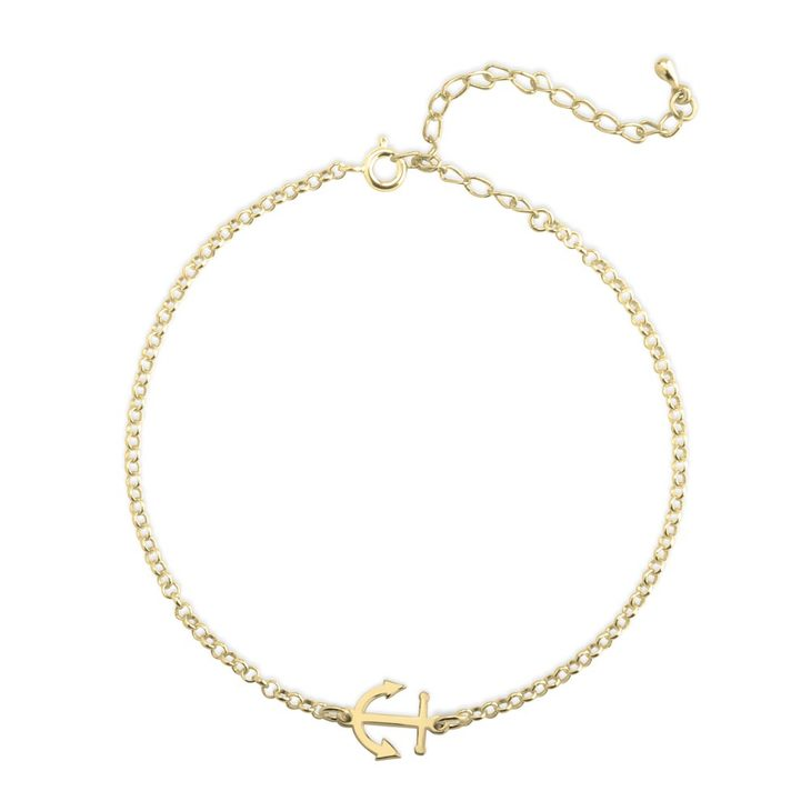 Anchor Ankle Bracelet