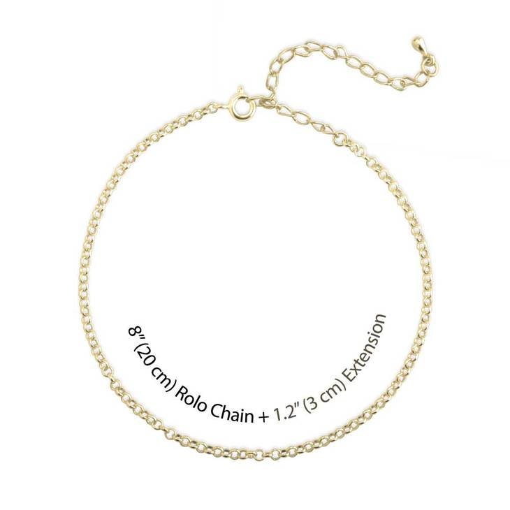 Anchor Anklet - Picture 3