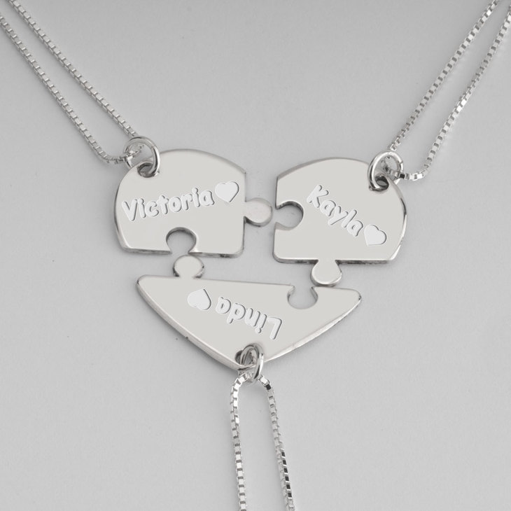 Best Friend Necklace - Picture 2