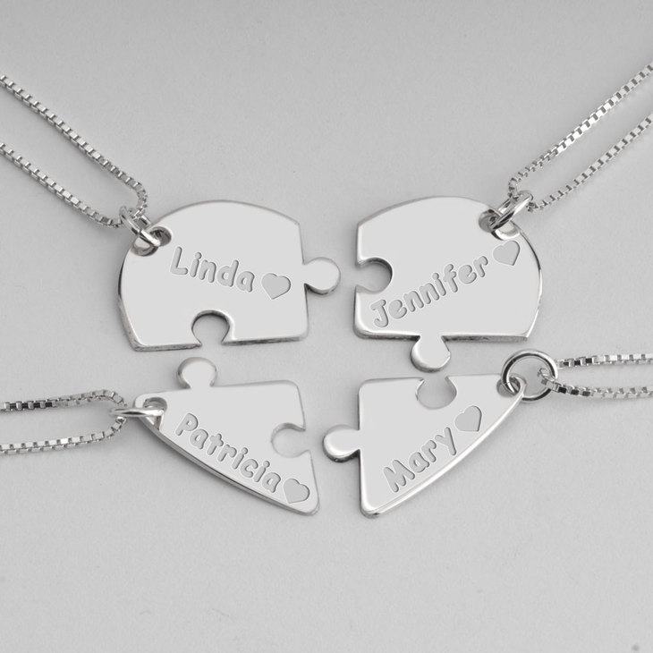 Best Friend Necklace - Picture 3