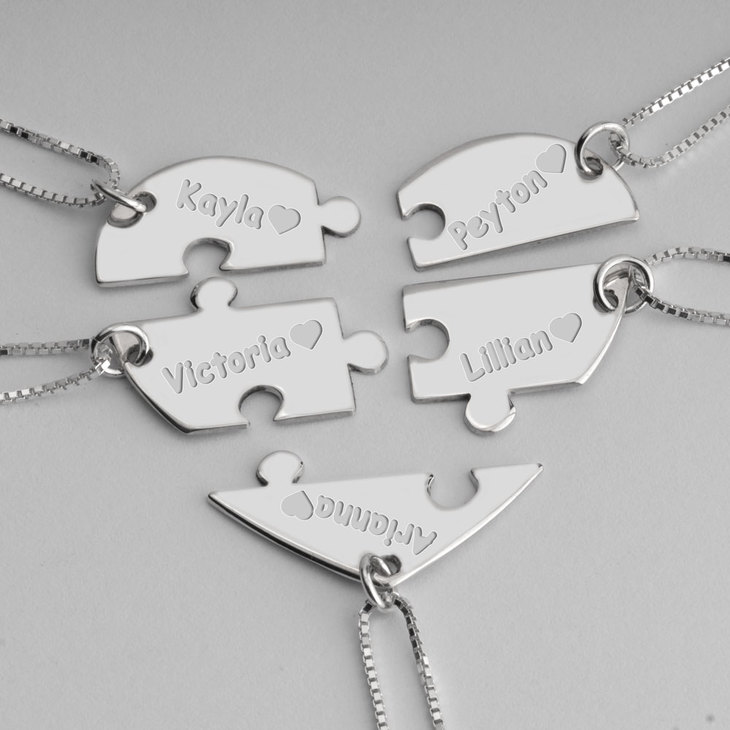 Best Friend Necklace - Picture 4