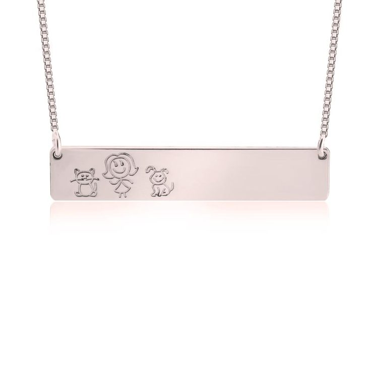 Family Bar Necklace
