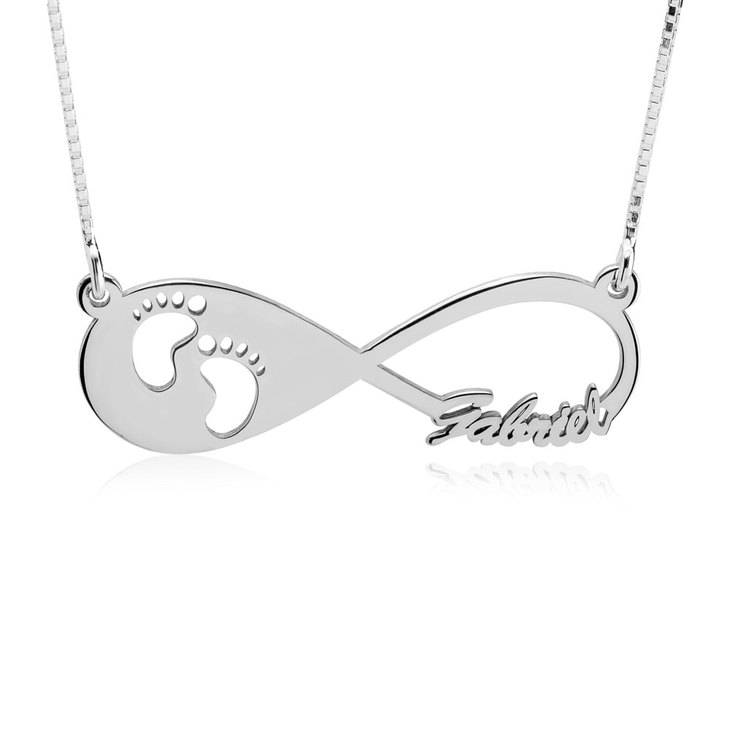 Custom Infinity Necklace