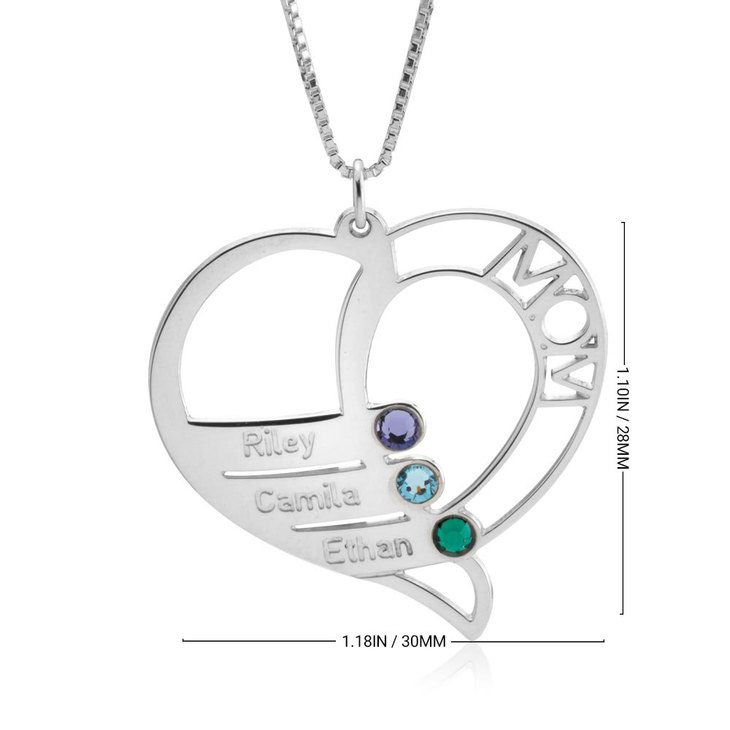 Personalized Necklace for Mom - Information