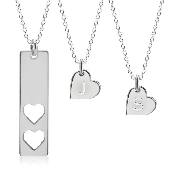 Mother And Daughter Necklace  - Picture 2