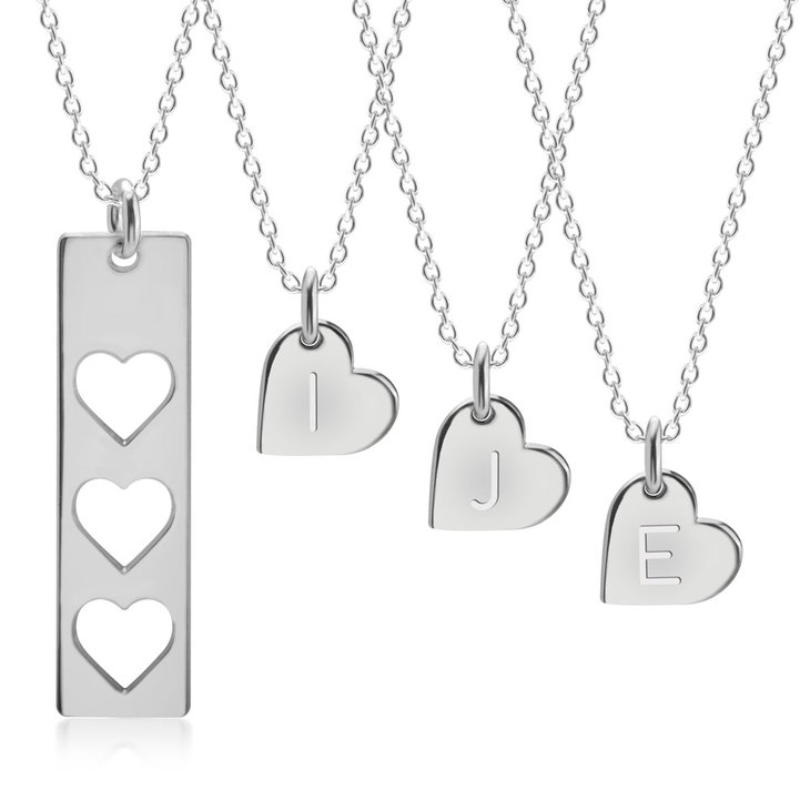 Mother And Daughter Necklace  - Picture 3