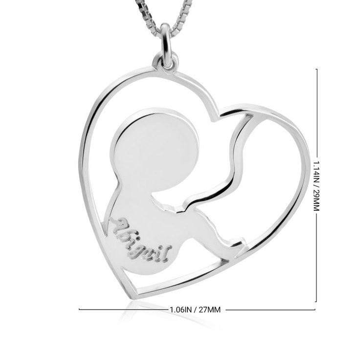 Baby Name Necklace - Information