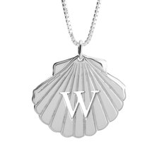 Personalized Seashell necklace