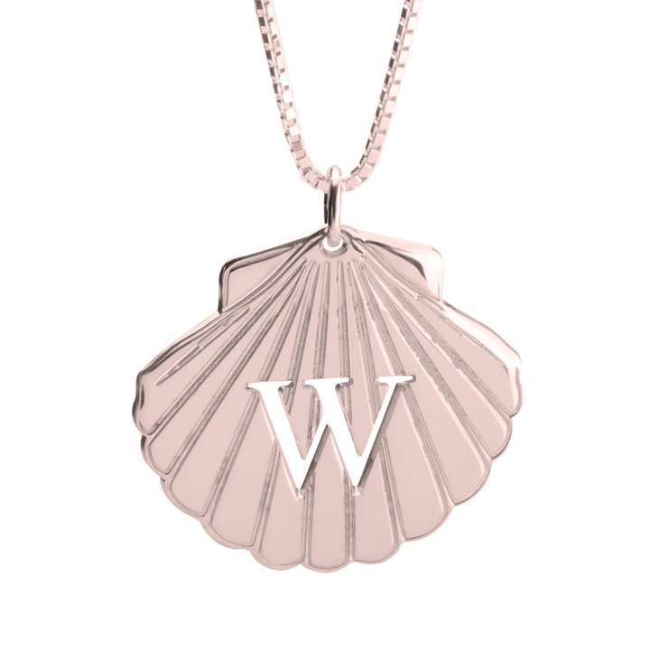 Personalised Seashell necklace