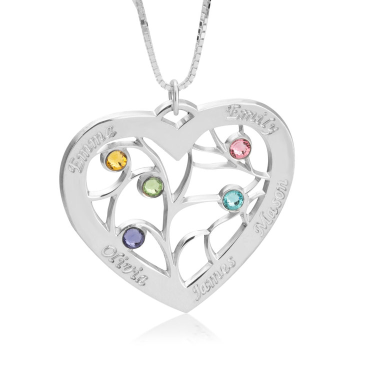 Personalised Heart Necklace  - Picture 2