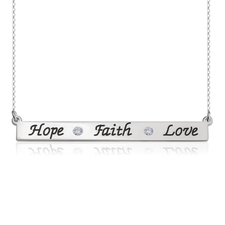 Collar Faith Hope Love