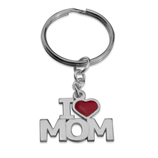 Dad & Mom Keychain