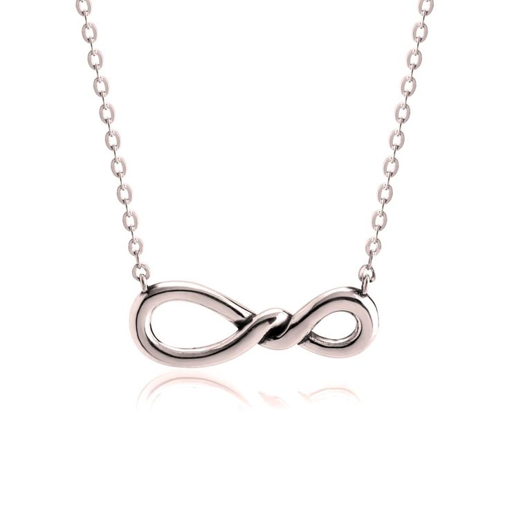 Twisted Infinity Necklace