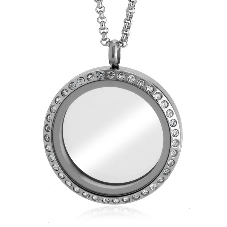 Silver Floating Locket - Picture 2