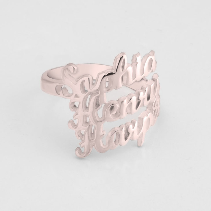 Personalized Name Rings - Picture 2