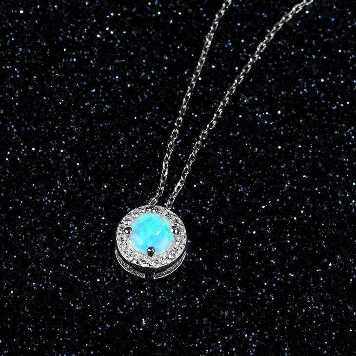 Opal Necklace - Picture 4