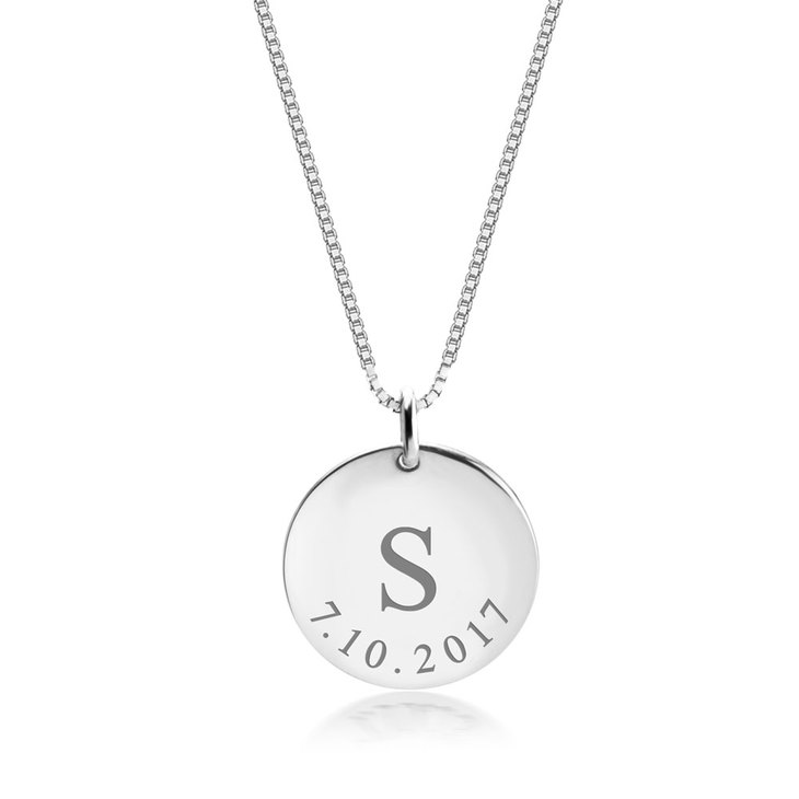 Personalized Date Necklace