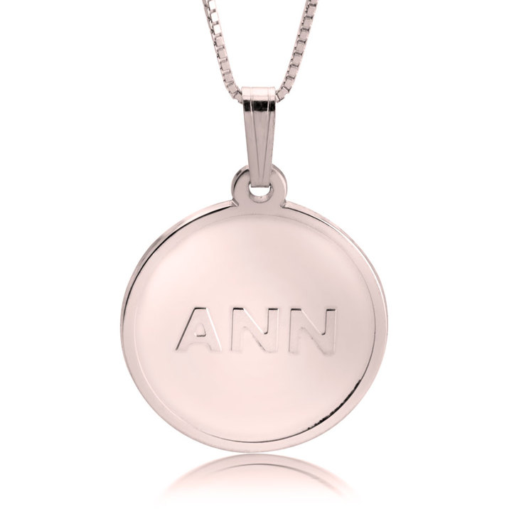Collier Initiales