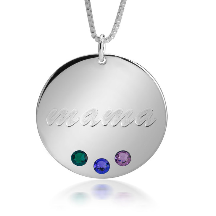 Birthstone Necklace - Picture 2