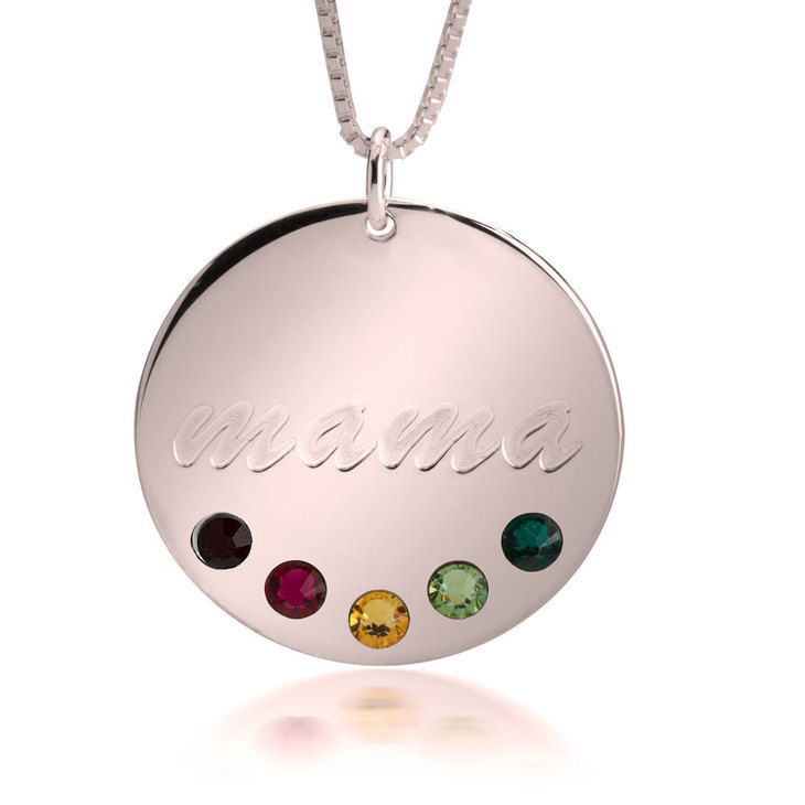 Birthstone Necklace - Picture 3