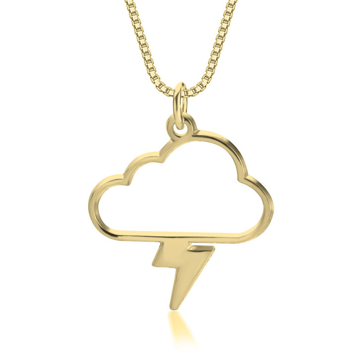 Collar de Nube y Rayo