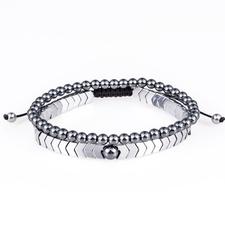 Bracelets en Hematite