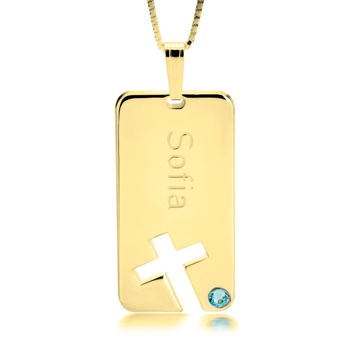 Cross Bar Necklace