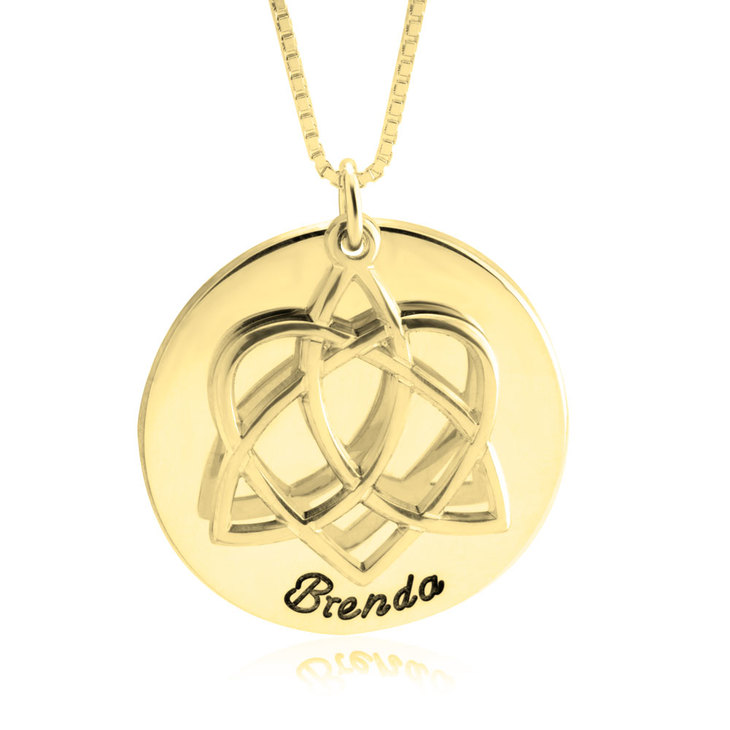 Adoption Symbol Necklace