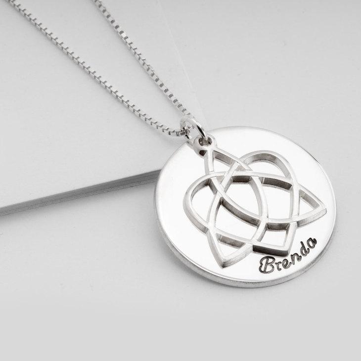 Adoption Symbol Necklace - Picture 2